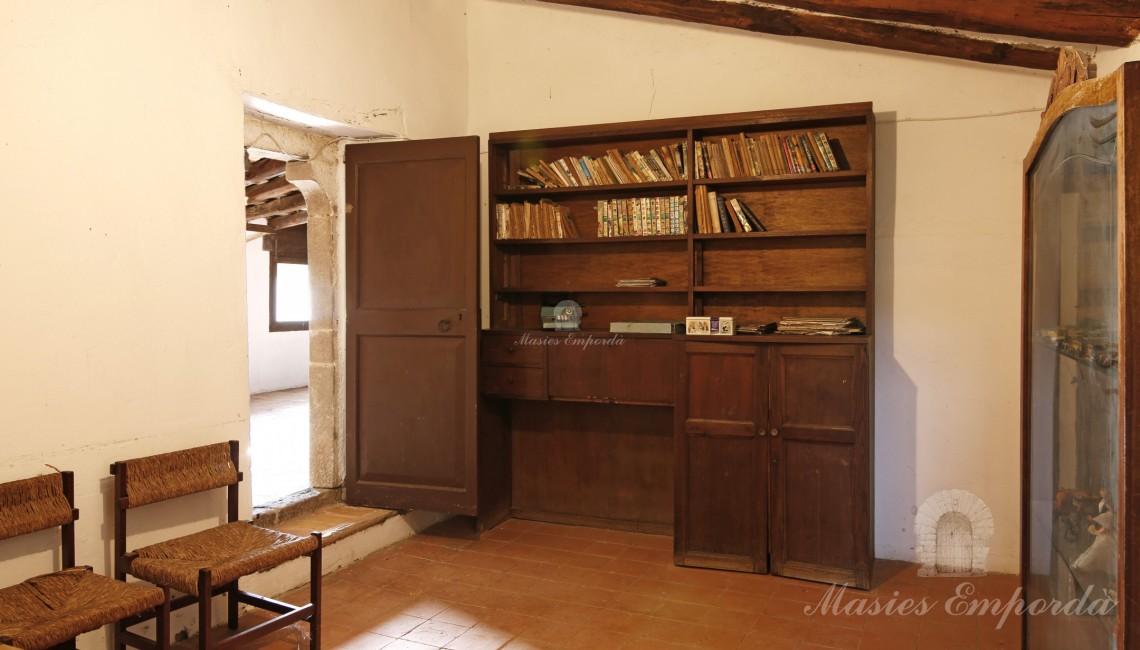 Attic living room