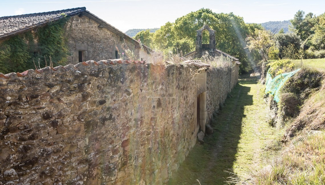 View of the fortification of the inner courtyard of the house