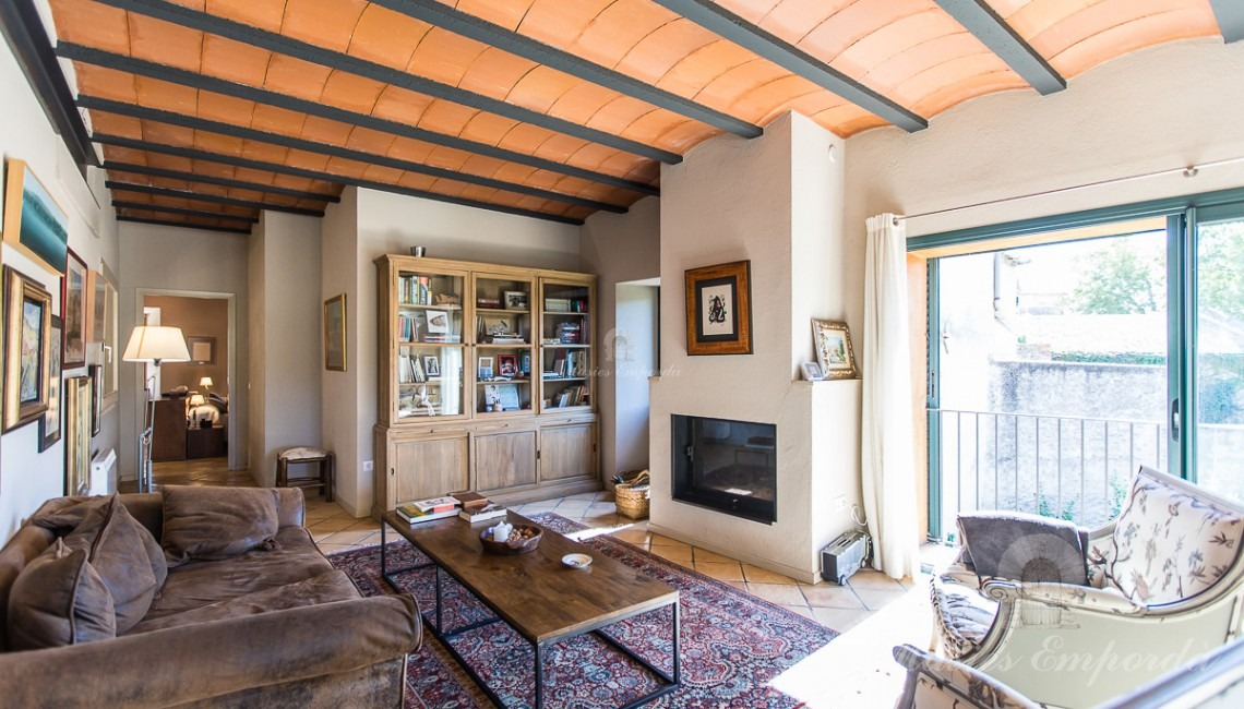 Main living room of the house