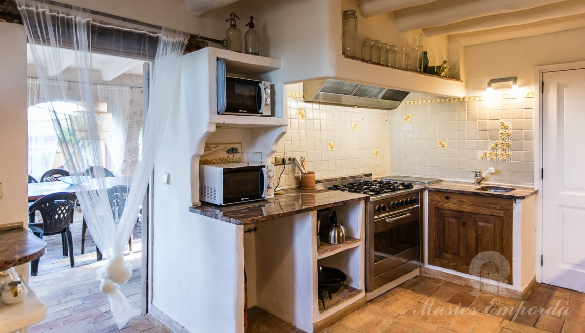 Main kitchen of the house