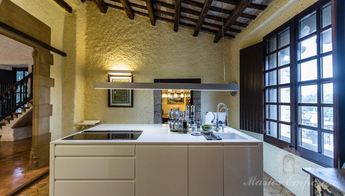 Second floor main kitchen