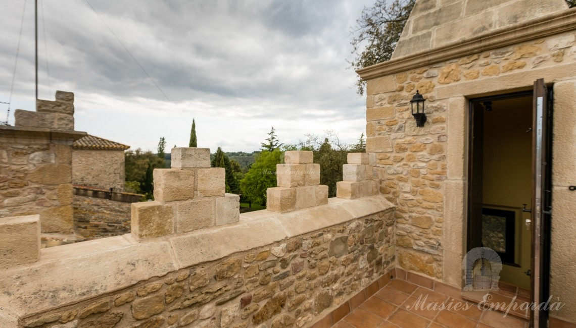 Terrace of the tower