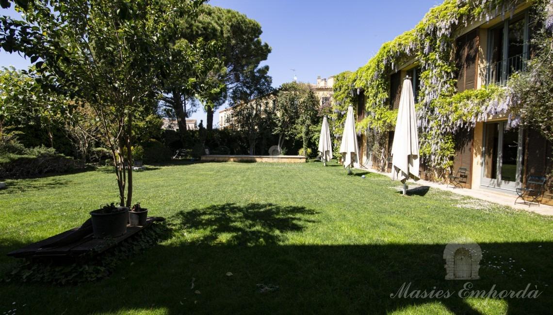Views of the house garden
