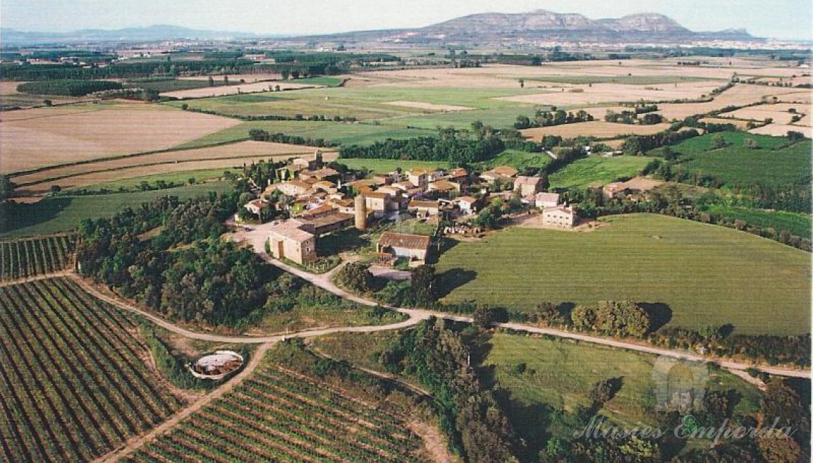 Vista aérea del municipio