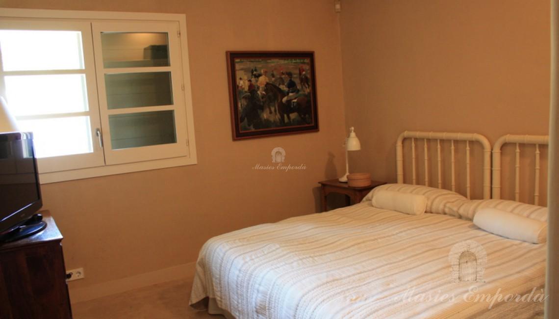 Unas de la habitaciones suite de la casa