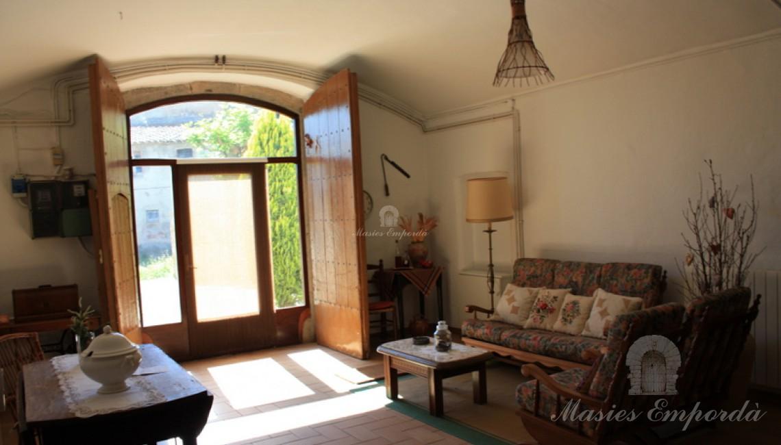 Hall de entrada de la casa