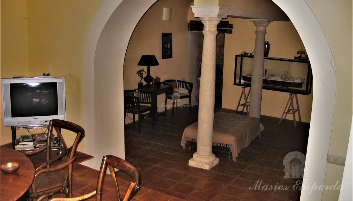 Part of entrance hall to the house and of the daily dining room
