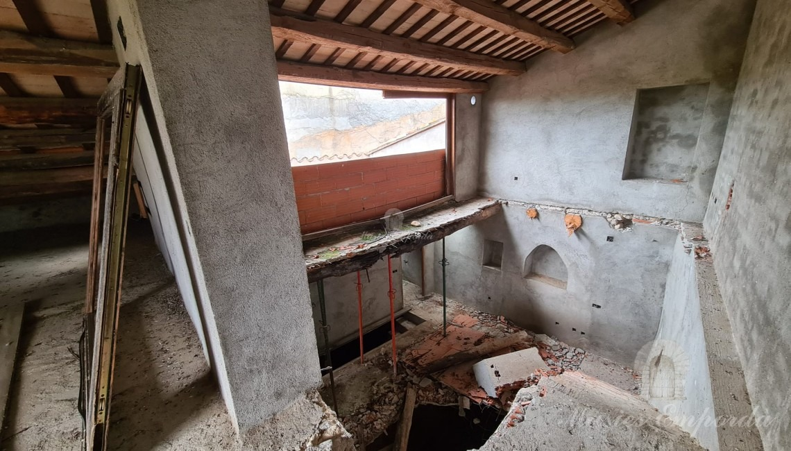 Second floor interior
