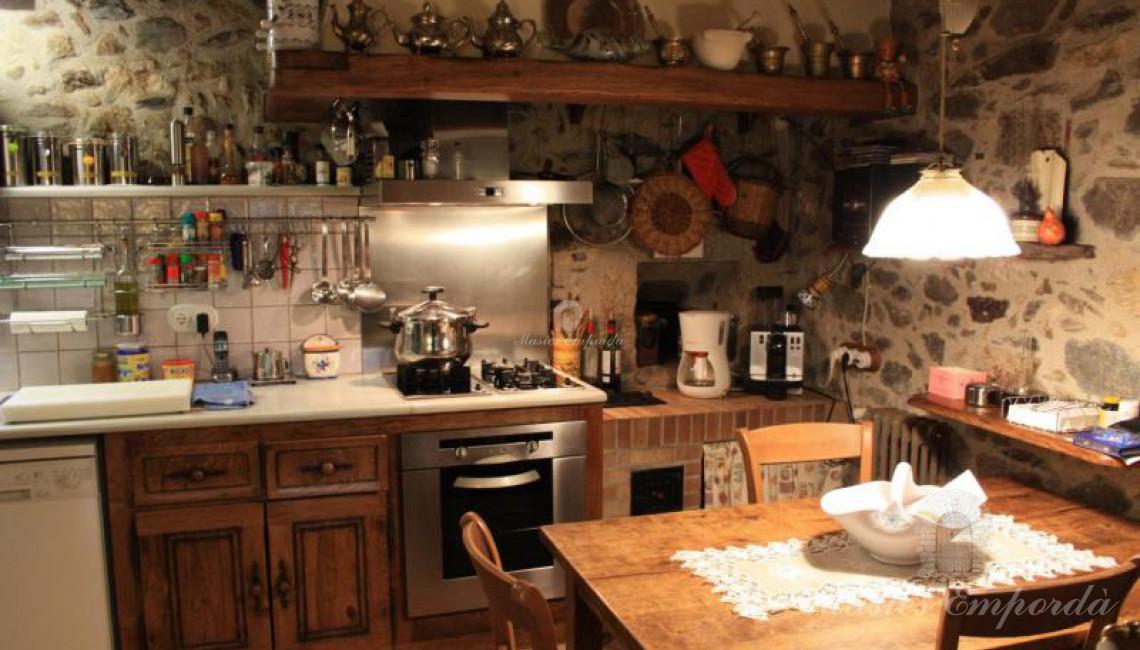 Detalle de la cocina de la casa