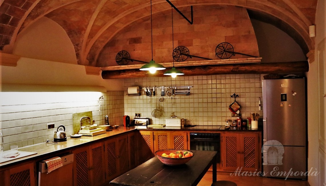 General view of the kitchen