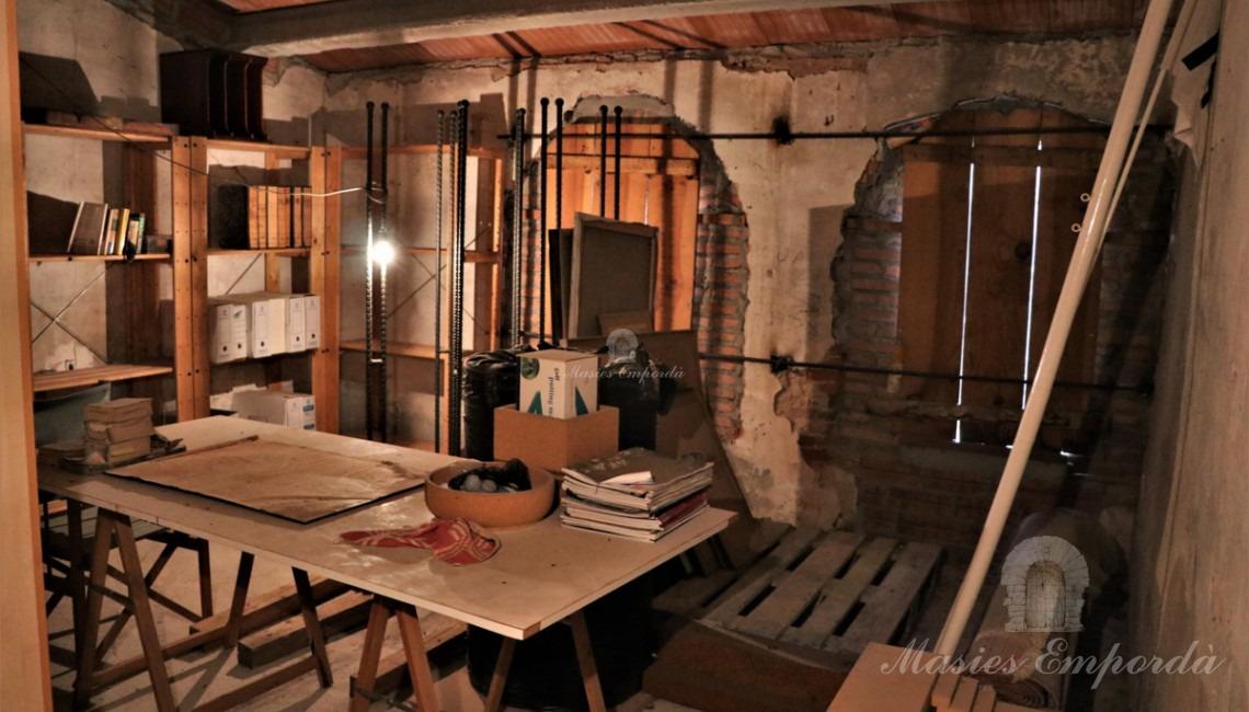 Una de la habitaciones de la primera planta