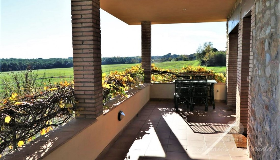 Terrace of one of the apartment on the second floor