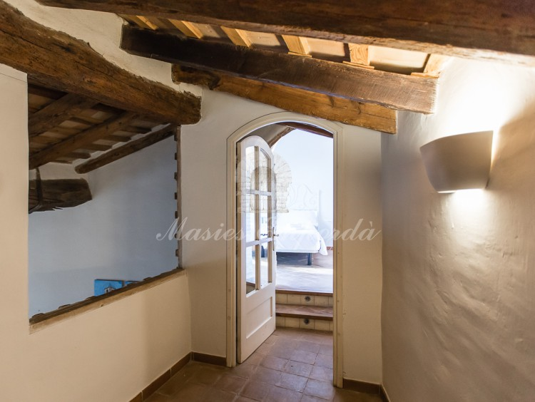 Hall of access to the attic suite