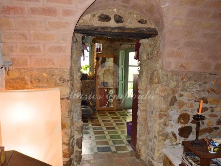 Entrance hall to the house