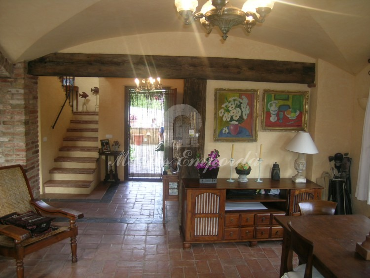 Views from the entrance hall dining room