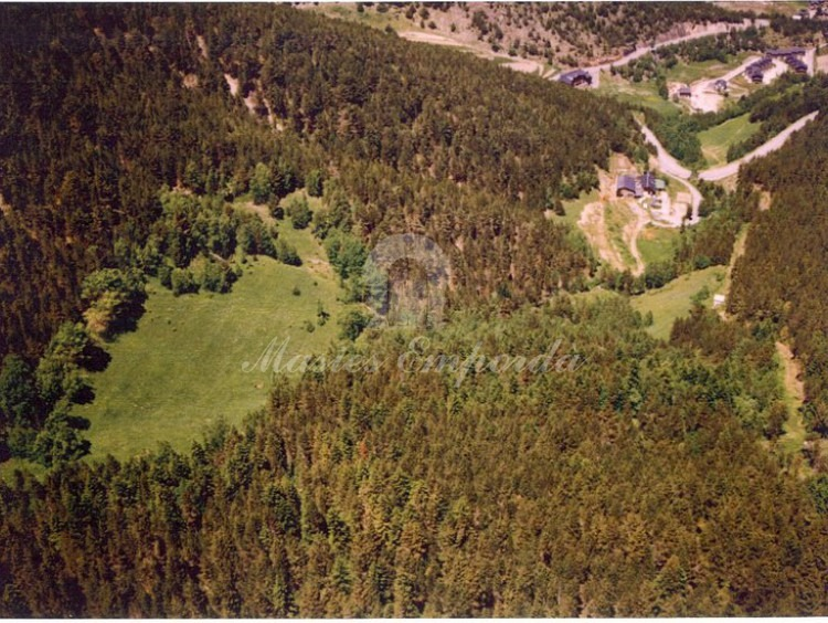 Vista aerea de la finca