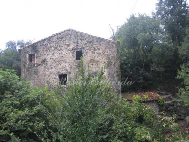 Vista de un lateral de la casa