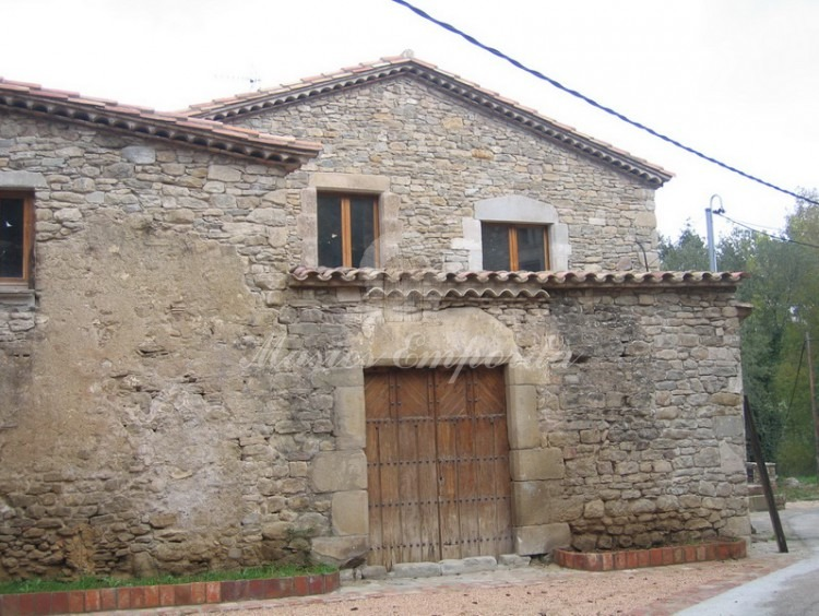 Facade of the house