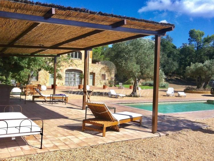 Pool and garden porch