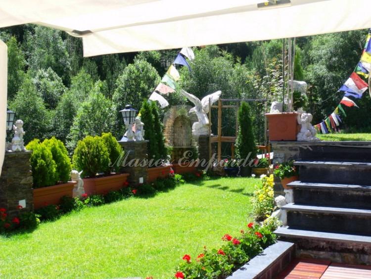 Parte del Jardín y la casa