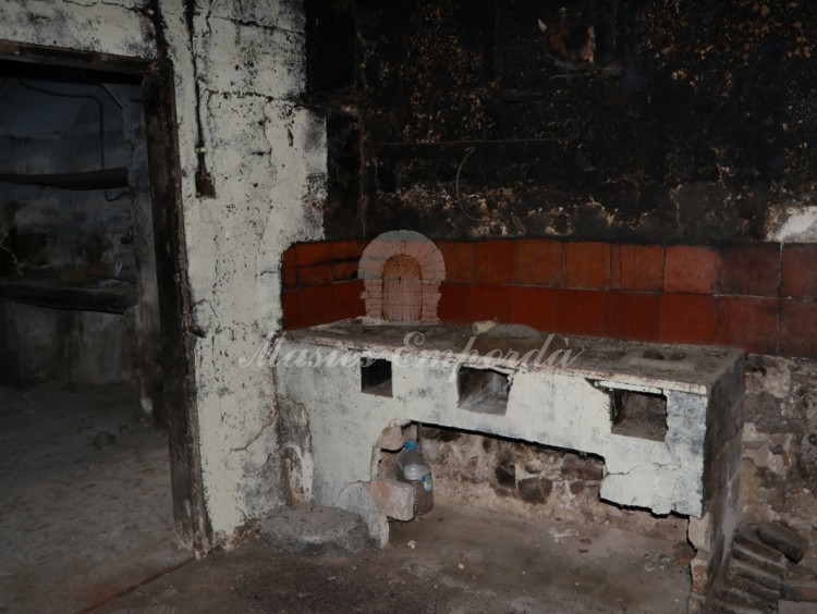 Old coal kitchen