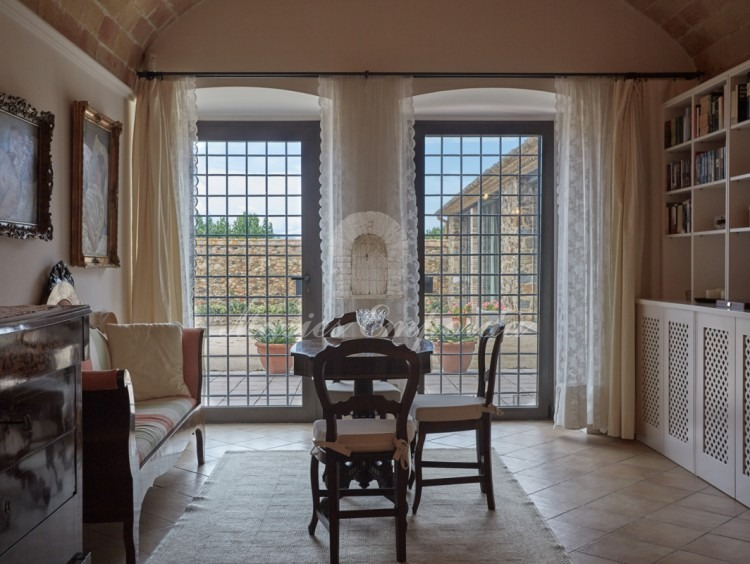 Salón de una de la suite