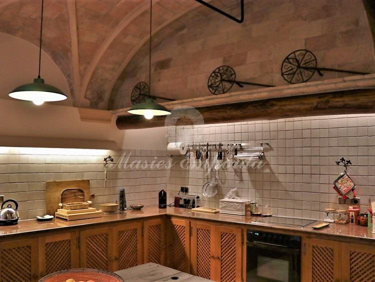 Large kitchen on the ground floor