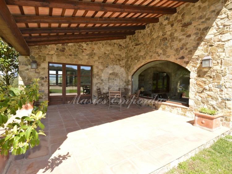 Porch of the farmhouse