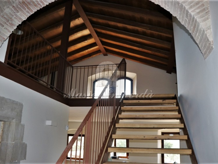 Stairway to the attic