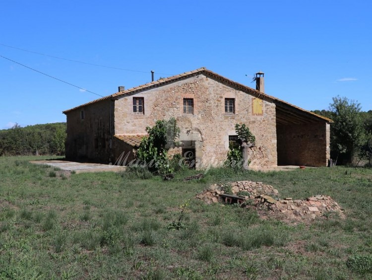 Facade of the farmhouse