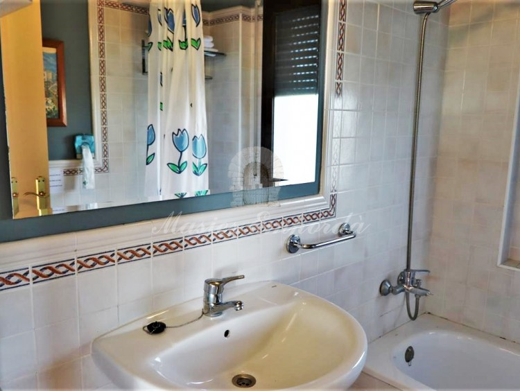 Courtesy bathroom and second bedroom