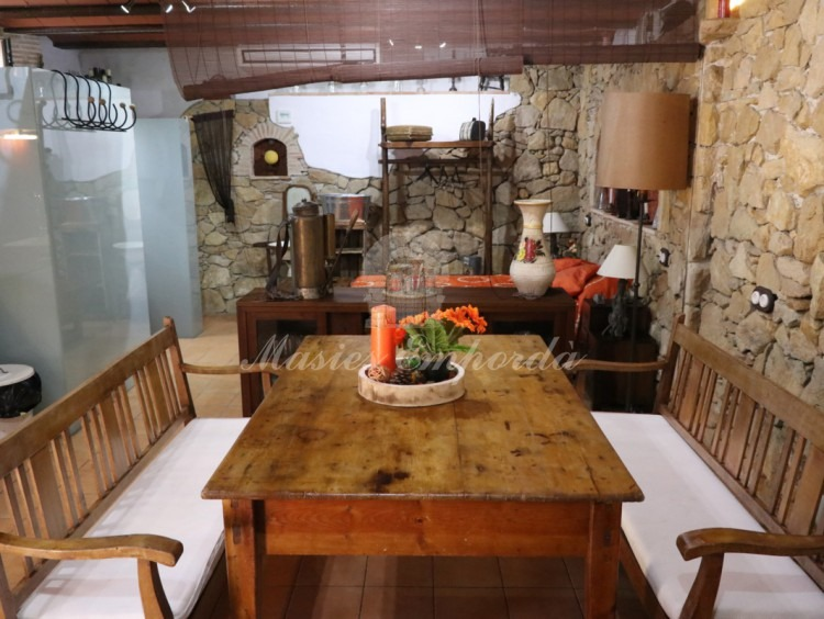 Dining room kitchen on the ground floor of the house