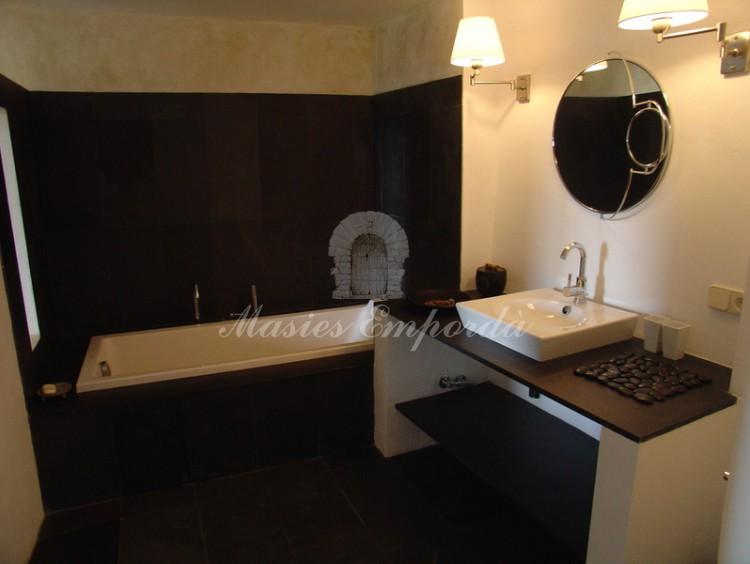 Baño de una de la habitaciones